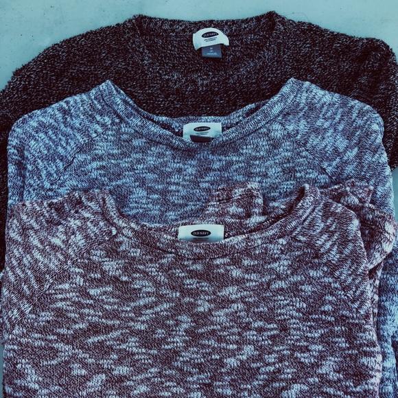 Old Navy Shirts Tops Bundle Of 3 Girls Sweaters Poshmark